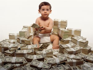 money-child